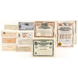 Arizona Mining Bond and Check Collection