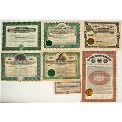 Arizona Mining Stock Certificate Collection 1
