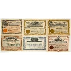 Arizona Mining Stock Certificate Collection 2
