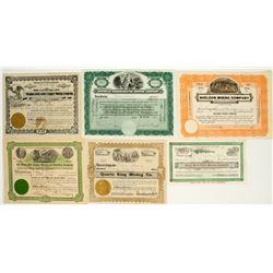 Arizona Mining Stock Certificate Collection 4