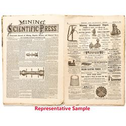 Five Mining & Scientific Press: All with Bodie or Mono County News