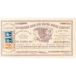 Enterprise Gold and Silver Mining Company (Pilot Knob, Mud Springs & Mound Springs Mining Districts)