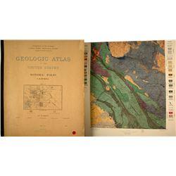 Another Fabulous U. S. Geologic Folio: Sonora, California