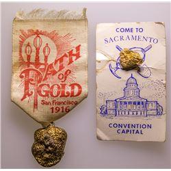 California Gold Nugget Souvenirs