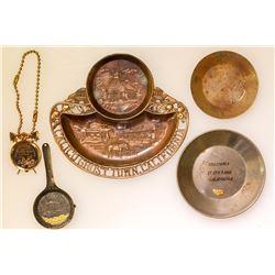 California Gold Pan Souvenirs