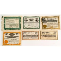 California Mining Stock Certificate Collection