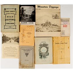 Colorado Mining & History Publications