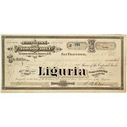 Liguria Gold & Silver Mining Company Stock Certificate