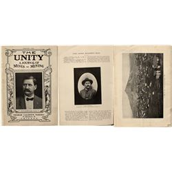 """The Unity, Volume 1, Number 1"" (Goldfield Mining Prospectus)"