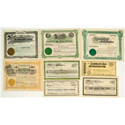 Early Goldfield Mining Stock Collection (pre-1907)