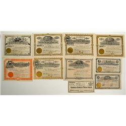 Goldfield Mining Stock Collection (1907-1908 Period)