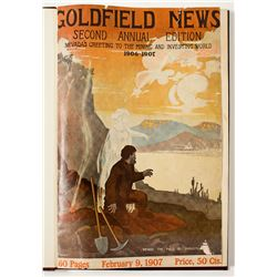 Second Annual Edition of the Mining and Investment World printed by Goldfield News