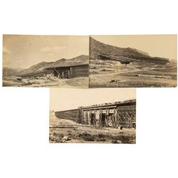 McGill and Smelter Concentrator Real Photo Postcards