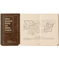 Prospectus for The United Randopah Mining & Milling Company
