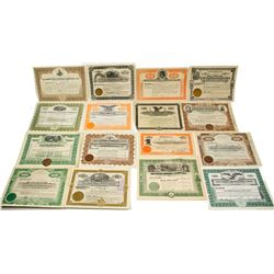 Nevada Mining Stock Certificate Collection (16)