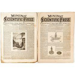Nevada Salt Marshes in Mining & Scientific Press