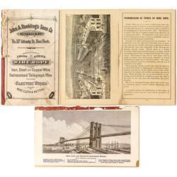 John A. Roebling's Sons Co. Wire and Cable Catalog and Information Booklet