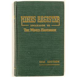 Mines Register, 1956 Volume XXV