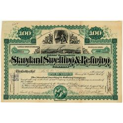 The Standard Smelting & Refining Company Stock Certificate