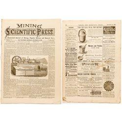 Mining & Scientific Press: November 30, 1878
