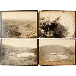 Four Rural Mining Scenes