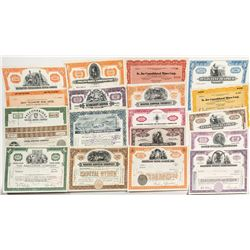 Major US Mining Company Stock Certificate Collection