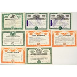 US Beryl Company Stock Certificates