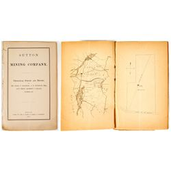 Geological Survey & Report of Sutton Mining Company (Jackson, Morgan, Chace)