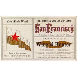 Gold Rush Shipping Card: Winged Hunter