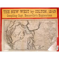 1849 Map of the American West