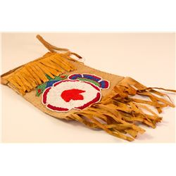 Woodland (Wabanaki) Beaded Bag