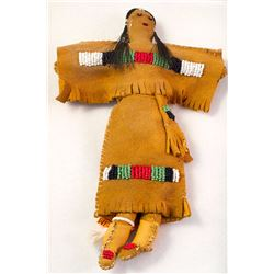 Apache Beaded Doll