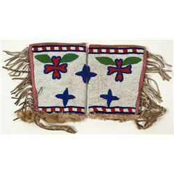 Vintage Plains Indian Beaded Cuffs