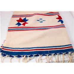 Mexican Early Saltillo Blanket