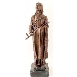 """""""Standing Bear"""" Bronze by Carl Kouba"""