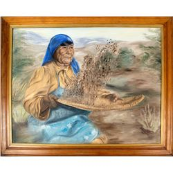 Painting: Winnowing the Harvest