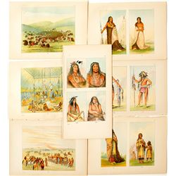 George Caitlin Virtual Exhibition Prints on Native Americans
