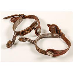 Handmade Spurs w/ Silver, Copper, Brass