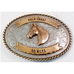 Vintage Crockett & Kelly Belt Buckle