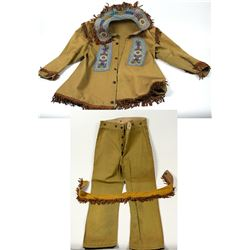 Iroquois Design Wild West Outfit