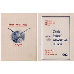 Booklet on Cattle Raisers' Association of Texas