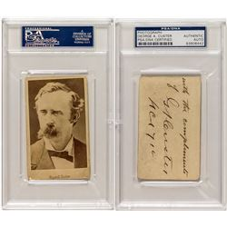 Lt. Colonel George Armstrong Custer Post Civil War Autograph