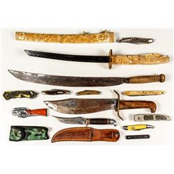 Knife and Machete Collection