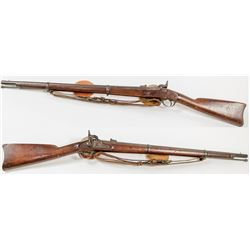 1863 Springfield Rifle-Musket marked S.N.&W.T.C for Massachusetts