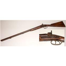 Perkins English Muzzle Loading Black Powder Shotgun