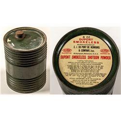 Dupont Smokeless Shotgun Powder Can