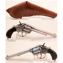 Colt Model 1878 Double Action Royal Mounted Police With Original Brown Flap Holster
