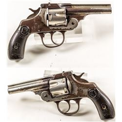 Iver Johnson 38 Caliber 5 Shot Double Action Revolver