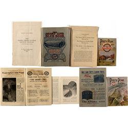 Cripple Creek Railroad Booklets, Report & Contract
