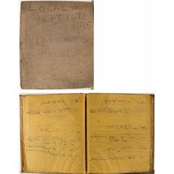 The Denver & Salt Lake Railroad Co. Letterpress Book
